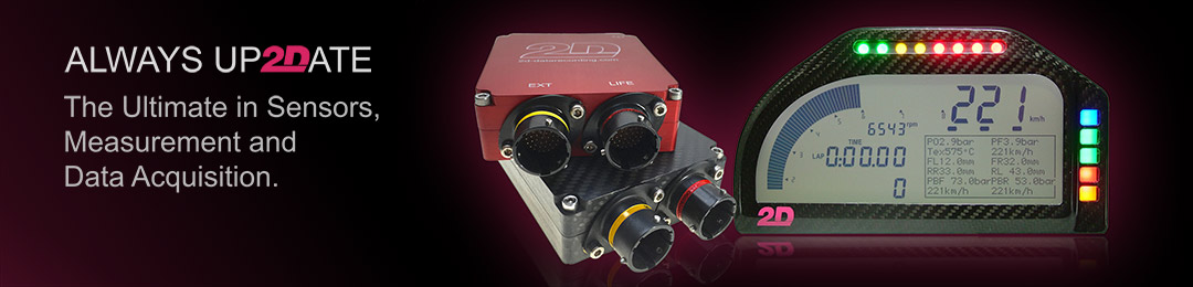 2D. Always Up2Date. The Ultimate in Sensors, Measurement and Data Acquisition.
