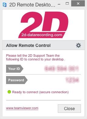 2D Desktop Remote Tool